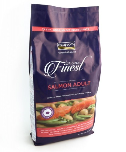 Fish4Dogs Finest Salmon Adult Regular 12 kg (SPARTIPP: unsere Staffelpreise)