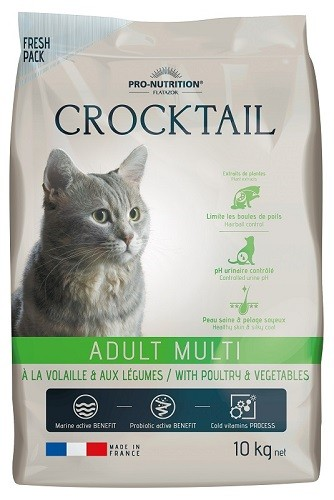 Flatazor Cat Crocktail Adult Multi mit Geflügel und Gemüse 2 kg oder 10 kg (SPARTIPP: unsere Staffelpreise)