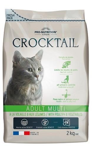 Flatazor Cat Crocktail Adult Multi mit Geflügel und Gemüse 2 kg