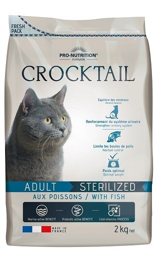 Flatazor Cat Crocktail Adult Sterilized mit Fisch 2 kg