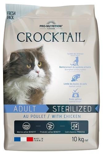 Flatazor Cat Crocktail Adult Sterilized mit Huhn 2 kg oder 10 kg (SPARTIPP: unsere Staffelpreise)