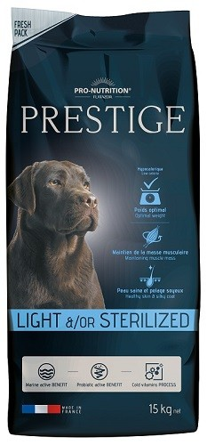 Flatazor Prestige Adult Light & Sterilised 15 kg