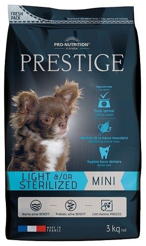 Flatazor Prestige Adult Mini Light/Sterilized 3 kg oder 8 kg (SPARTIPP: unsere Staffelpreise)