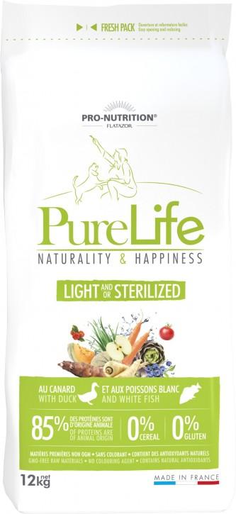 Flatazor Pure Life Light Sterilized 2 kg oder 12 kg (SPARTIPP: unsere Staffelpreise)