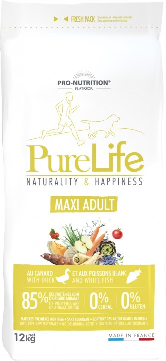 Flatazor Pure Life Maxi Adult 12 kg (SPARTIPP: unsere Staffelpreise)