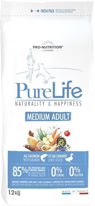 Flatazor Pure Life Medium Adult 2 kg oder 12 kg (SPARTIPP: unsere Staffelpreise)