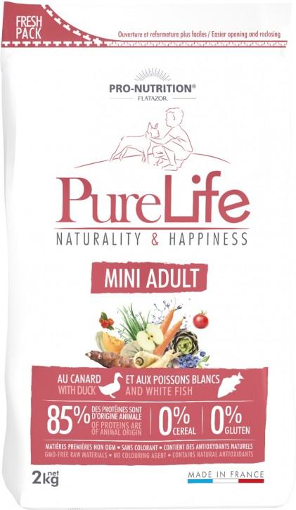 Flatazor Pure Life Mini Adult 2 kg oder 8 kg (SPARTIPP: unsere Staffelpreise)