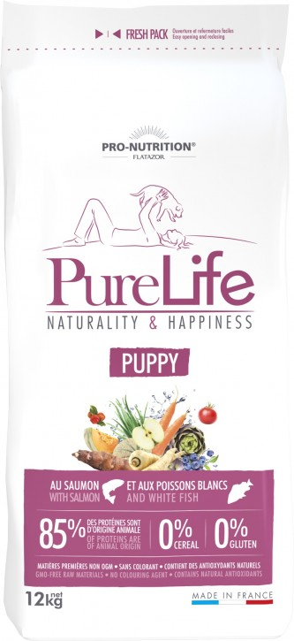 Flatazor Pure Life Puppy 2 kg oder 12 kg (SPARTIPP: unsere Staffelpreise)
