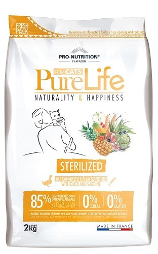 Flatazor Pure Life for Cats Sterilized 2 kg
