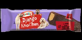 Frolic Snack Django Knochen Groß mit Rind 12 Stück