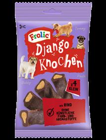 Frolic Snack Django Knochen Klein mit Rind 8 x 4 Stück