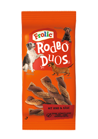 Frolic Snack Rodeo Duos mit Rind und Käse 10 x 7 Stück