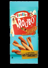 Frolic Snack Rodeo mit Geflügel 18 x 6 Stück