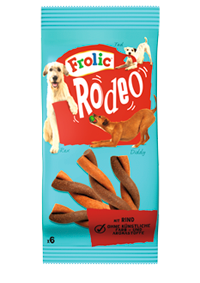 Frolic Snack Rodeo mit Rind 18 x 6 Stück