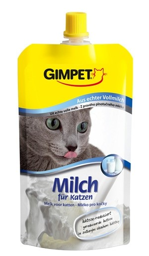 Gimpet Cat Milch für Katzen 14 x 200 ml