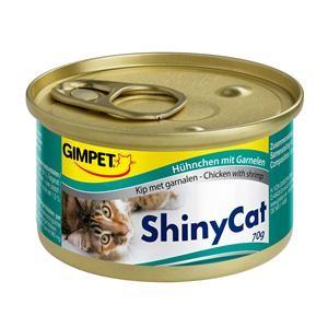 Gimpet Cat ShinyCat Hühnchen mit Garnelen 24 x 70 g