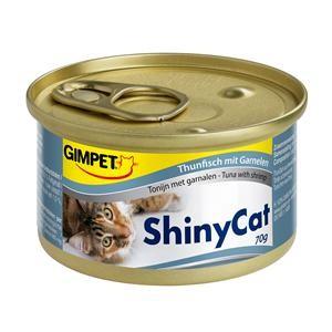 Gimpet Cat ShinyCat Thunfisch und Garnelen 24 x 70 g