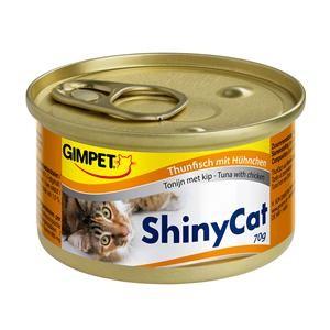 Gimpet Cat ShinyCat Thunfisch und Hühnchen 24 x 70 g