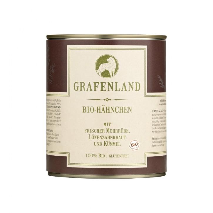 Grafenland Bio Hähnchen Menü 800 g