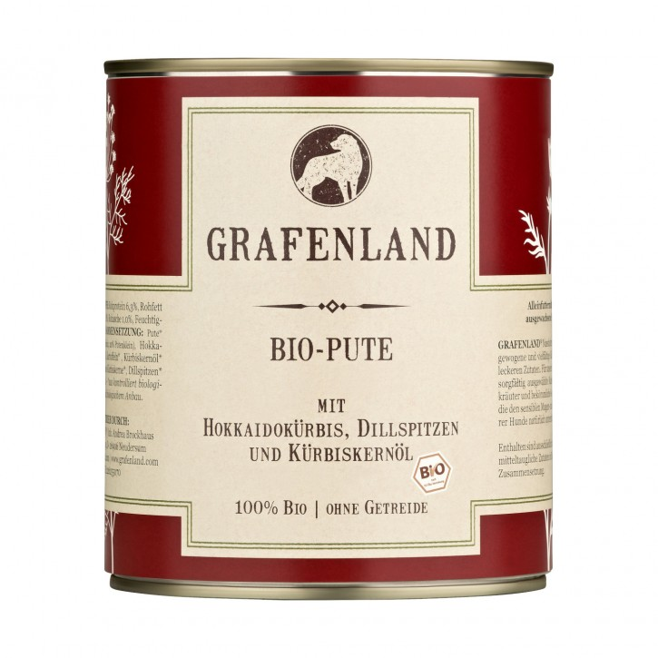 Grafenland Bio Pute Menü 400 g