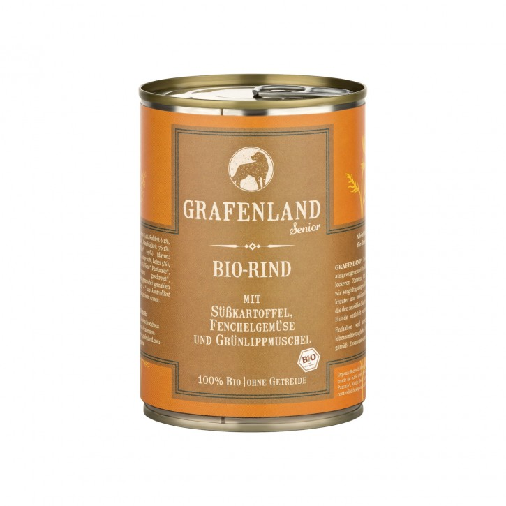 Grafenland Bio Rind Menü Senior 400 g