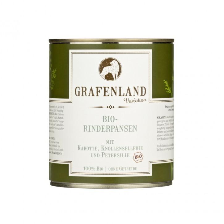 Grafenland Bio Rinderpansen Menü 800 g