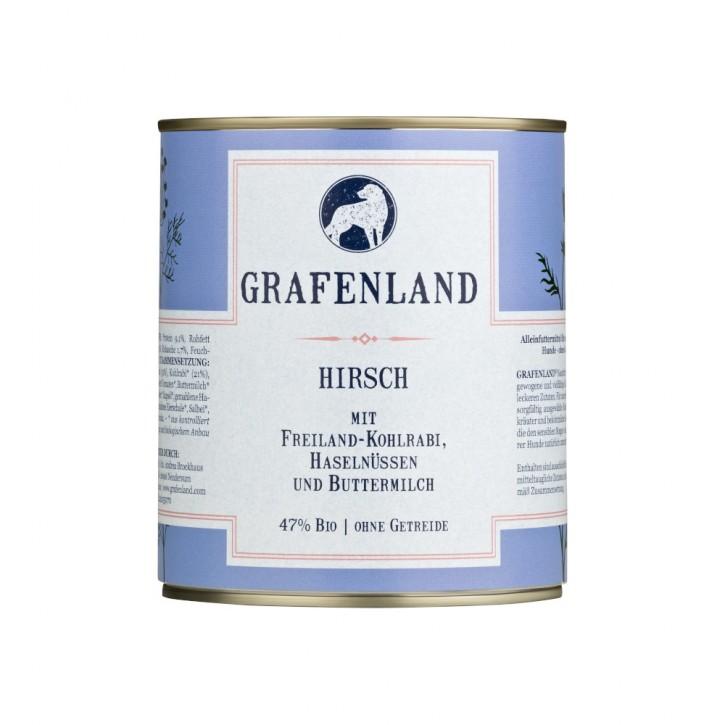 Grafenland Hirsch Menü 800 g