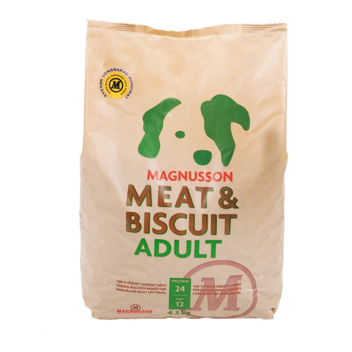 Magnusson Petfood Meat und Biscuit Adult 4,5 kg