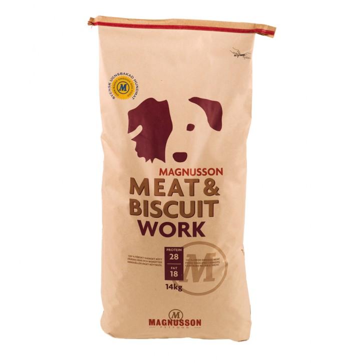 Magnusson Petfood Meat und Biscuit Work 14 kg (SPARTIPP: unsere Staffelpreise)