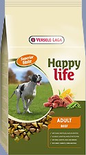 Happy Life Adult Beef 4 x 15 kg (Staffelpreis)