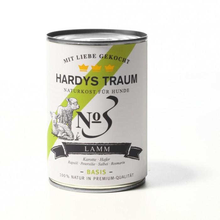 Hardys Traum Basis Menü mit Lamm 400 g oder 800 g