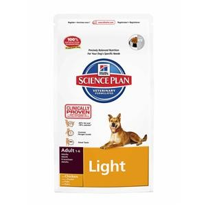 Hills Dog Adult Light mit Huhn 12 kg (SPARTIPP: unsere Staffelpreise)