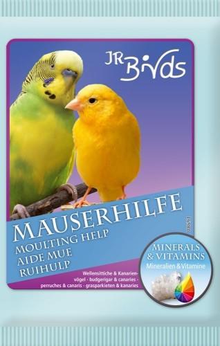 JR Farm Birds Mauserhilfe für Wellensittich und Kanarien 10 x 30 g
