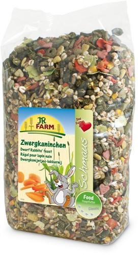JR Farm Zwergkaninchen Schmaus 1,2 kg,  2,5 kg oder 15 kg