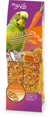JR Farm Birdys Honig Austernschale Karotte 5 x 130 g
