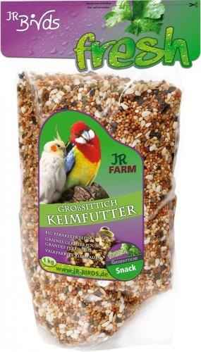 JR Farm Birds Keimfutter Großsittich 4 x 1 kg