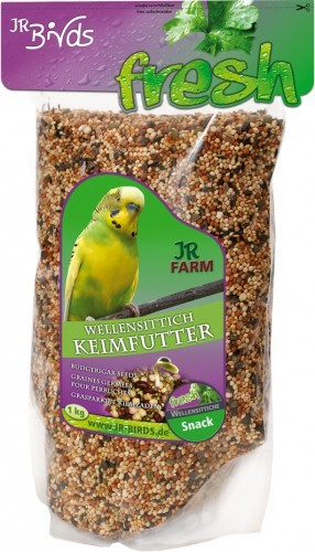 JR Farm Birds Keimfutter Wellensittich 4 x 1 kg