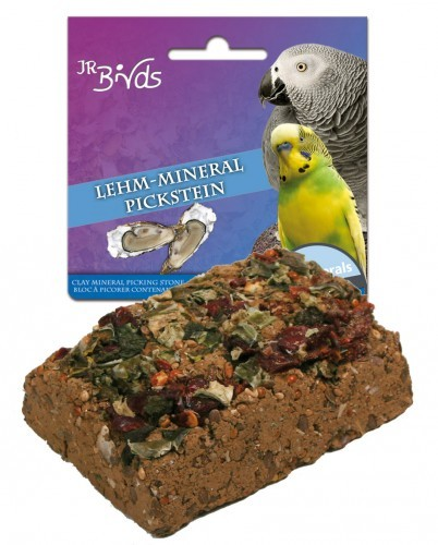 JR Farm Birds Lehm Mineral Pickstein 7 x 75 g