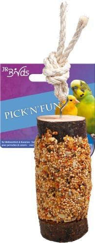 JR Farm Birds Pick n Fun Wellensittich und Kanarien 5 x 135 g