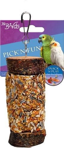 JR Farm Birds Pick n Fun Großsittich und Papagei 5 x 185 g