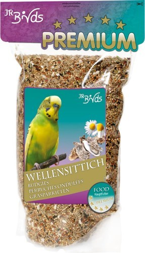 JR Farm Birds Premium Wellensittich 4 x 1 kg