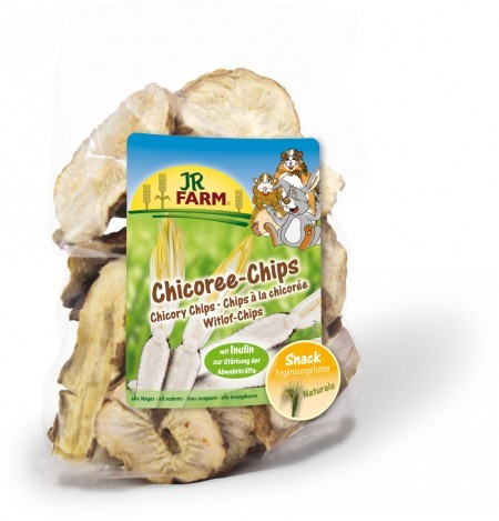 JR Farm Chicoree Chips 4 x 100 g