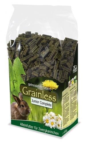 JR Farm Grainless Complete Junior Zwergkaninchen 6 x 1 kg