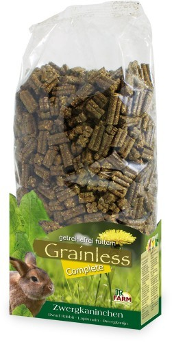 JR Farm Grainless Complete Zwergkaninchen 4 x 3,5 kg