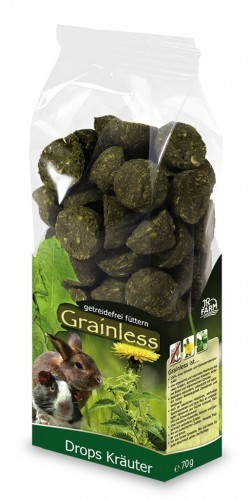 JR Farm Grainless Drops Kräuter 8 x 140 g
