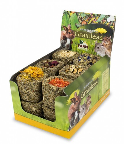 JR Farm Grainless Knabber Napf gemischt 12 x 75 g