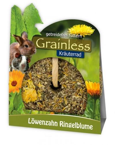 JR Farm Grainless Kräuter Rad Löwenzahn und Ringelblume 4 x 140 g
