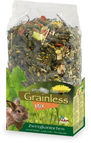 JR Farm Grainless Mix Zwergkaninchen 6 x 650 g