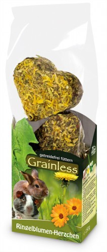 JR Farm Grainless Ringelblumen Herzchen 8 x 105 g