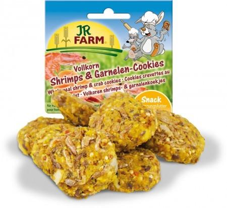 JR Farm Vollkorn Shrimps & Garnelen Cookies 8 x 80 g